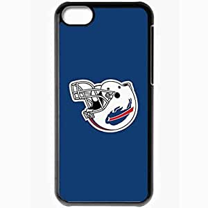 Personalized iPhone 5C Cell phone Case/Cover Skin Nfl Buffalo Bills 2 Sport Black