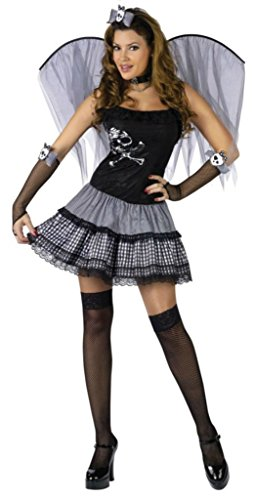 Funworld Womens Sexy Funky Punk Fairy Theme Party Fancy Dress Halloween Costume, S/M (2-8)