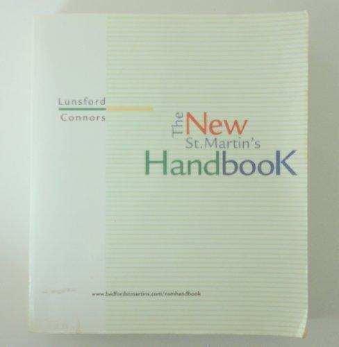 The New st Martin's Handbook