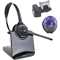 Plantronics CS510 Wireless Office Headset System With Lifter and Online Indicator (Certifed Refurbished)
