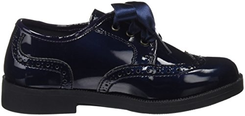 Conguitos Mädchen Charol Derby-Schuhe Blau (Marine)