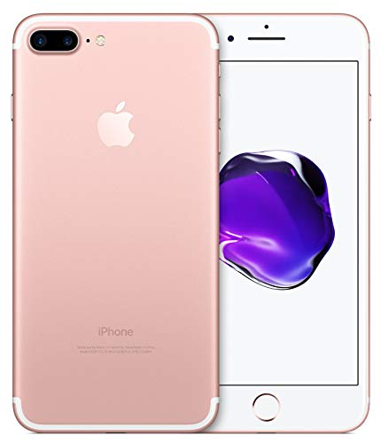 Apple iPhone 7 Plus, Boost Mobile, 32GB – Rose Gold (Renewed)