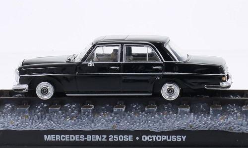Mercedes 250SE (W108), black, James Bond 007, Model for sale  Delivered anywhere in USA