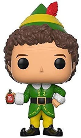 FunKo 21380 POP (Styles May Vary) Actionfigur Movies: Elf: Buddy mit Chase, 3.75 inches