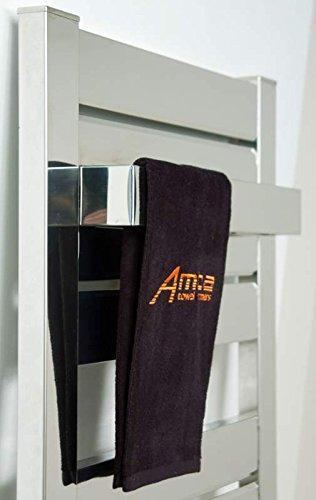 [해외]Amba AV-TB18-B 베가 18 인치 닦은 강철 수건 막대기/Amba AV-TB18-B Vega 18 Inch Brushed Steel Towel Bar