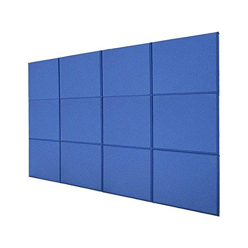 Fiberglass Foam Panels : Bqlzr cm blue fiberglass acoustic home studio
