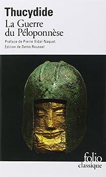 Histoire de la guerre du Péloponnèse par Thucydide