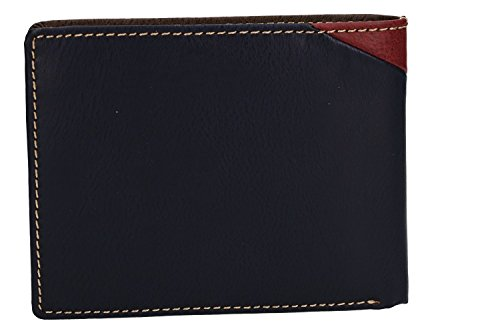 ANTONIO flap coin VA2571 and purse with Wallet man in BASILE blue leather 6Uwpwfx
