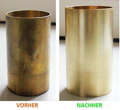 Nettoyant cuivre (1000 ml) - Lustrant de laiton et de cuivre – Nettoyer du cuivre en un clin d'œil