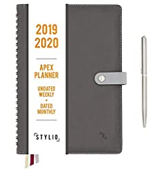 STYLIO Apex Planner 2019-2020. Undated W...