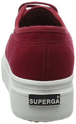 Superga 2790Acotw Linea Up And Down, Sneaker, Donna, Rosso (104 Scarlet), 36