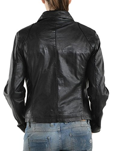 Leather Giacca Donna Nero Leather Junction Junction SdK4qxyU