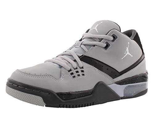 7fe93034ff71 Nike Jordan Kids Jordan Flight 23 BG Wolf Grey Pr Pltnm Blck Cl Gry  Basketball Shoe 5.5 Kids US