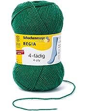 Schachenmayr Regia Schachenmayr Regia 4-nitkowa włóczka do robienia na drutach, 50 g liści