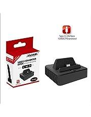 DOBE Portable Usb 3.1 Typc-C To Hdmi Video Converter Adapter Usb 3.0 Hub For Nintendo Switch
