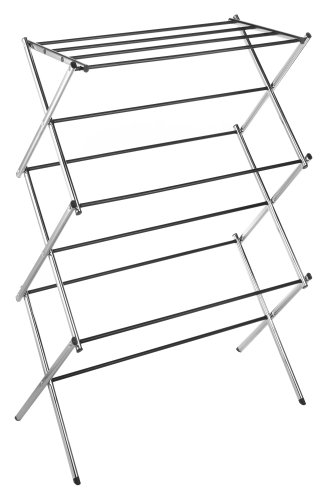 Whitmor Chrome Drying Rack, Collapsible