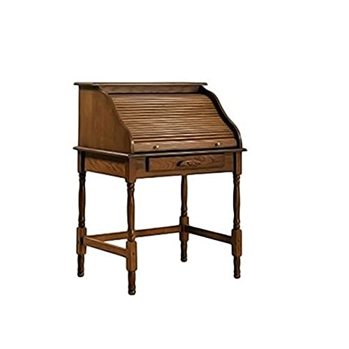 Coaster Palmetto Traditional Warm Honey Roll Top Secretary Desk. By Coaster  Home Furnishings