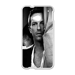 Coldplay HTC One M7 Cell Phone Case White LMS3873242