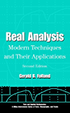 Real Analysis: Modern Techniques and Their Applications (Pure and Applied Mathematics: A Wiley Series of Texts, Monographs and Tracts)