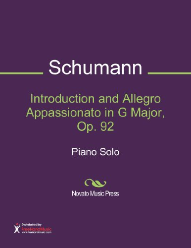 Introduction and Allegro Appassionato in G Major, Op. 92 Sheet Music (Piano Solo)