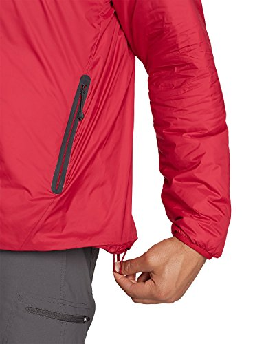 Eddie Bauer Mens Evertherm Down Jacket Cardinal (rosso)