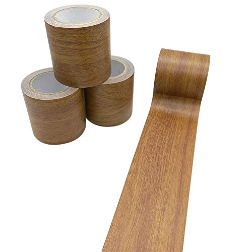 Creative ingenuity 1 Roll 15 Feet Simulation Wood Grain High-Adhesive Repair Tape for Desk/Chair/Furniture/Floor Beautification Decoration Tape (Brown Antique Oak) from Creative ingenuity