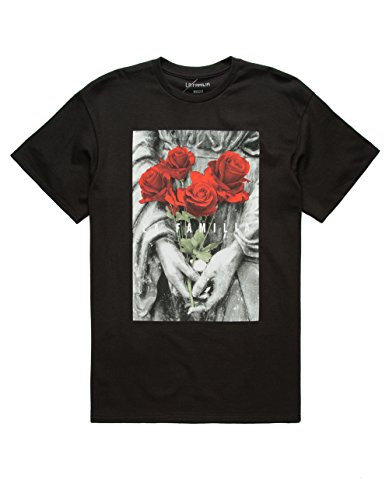 LA FAMILIA Poison Roses T-Shirt, Black, - Tee Familia