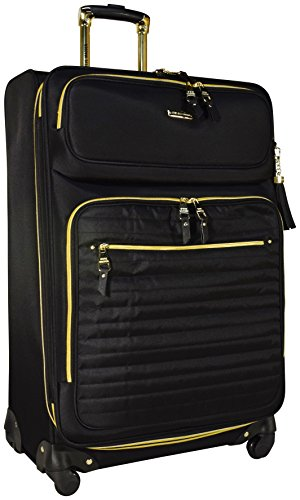 Steve Madden Illusion Collection Expandable Luggage Spinner Wheeled 28-inch Suitcase