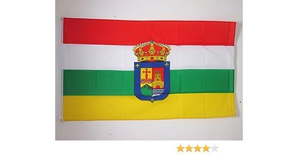 AZ FLAG Bandera de LA Rioja 150x90cm - Bandera RIOJANA 90 x 150 cm ...