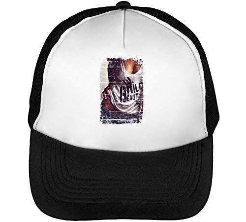 Blanco Negro Snapback Hombre Gorras Beisbol Wild wq6UX4x