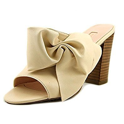 4f60c6758db Avec Les Filles by Joyce Azria Marie Bow High Heel Mule (Pink Sand) Size