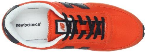 New Balance U410 D 13H - Caña baja de material sintético hombre Color azul o naranja rojo - Rot (RK RED/BLACK 4)