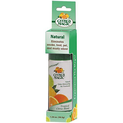 Citrus Magic Spray Air Freshener, Tropical Citrus Blend, 1.36 Ounce