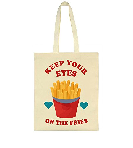 Bag Keep Eyes Tote Fries Your On The nxw1v1A8q0