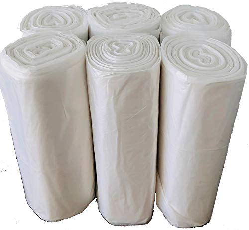 Reli. Easy Grab Trash Bags, 55-60 Gallon (150 Count) (Clear) - Star Seal Super High Density Rolls - Heavy Duty Can Liners, Garbage Bags, Bulk Bags - 50, 55, 60 Gallon Capacity by Reli. (Image #3)