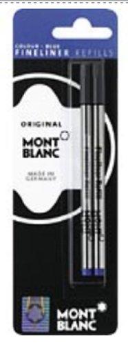 Montblanc Blue Fineliner Refills 2 Per Pack