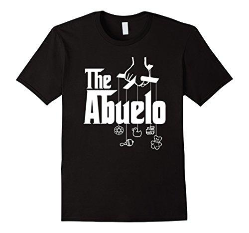 Costa Rica Mexico (Mens The Abuelo! Spanish Grandfather T-Shirt XL Black)