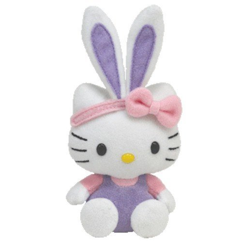 Basket Beanies Ty Hello Kitty Purple -