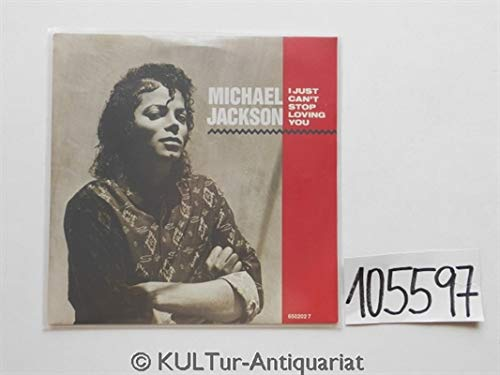 I Just Can't Stop Loving You 7'' 45 Michael Jackson