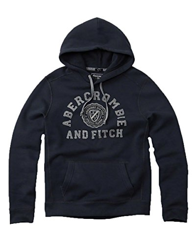 abercrombie-fitch-mens-hoodie-sweatshirt-pullover-m-navy