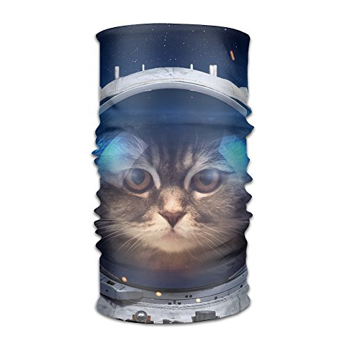 Cats Dressed In Costumes (Funny Cat Dressed Up In Space Suit Women's Elastic Head Wrap Scarf Hair Band)