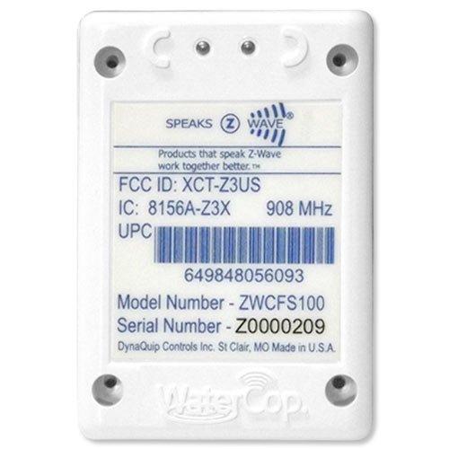 WaterCop Z-Wave Wireless Water & Freeze Sensor (ZWCFS100)