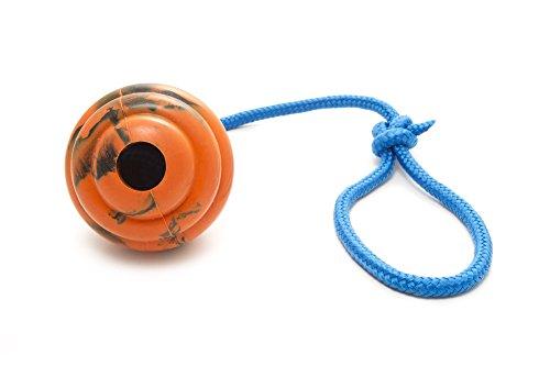 41BAxxm6ErL - Nero Ball Ultra Dog Training Ball On A Rope
