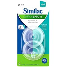 Similac SimplySmart Level 3 Fast Flow Nipple, 2-Count (Discontinued by Manufacturer)