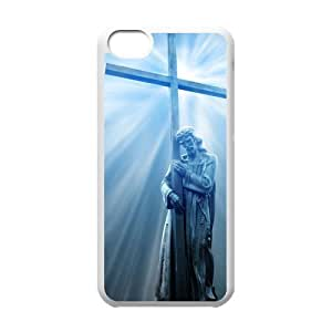 Christ Jesus cross For iPhone 5C Csae TPU protection Case HYH694348