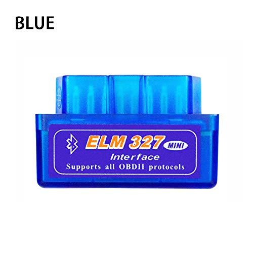 Eadorns Mini ELM327 V2.1 Bluetooth OBD2 OBDII Car Auto Diagnostic Interface Scanner Tool (Blue)