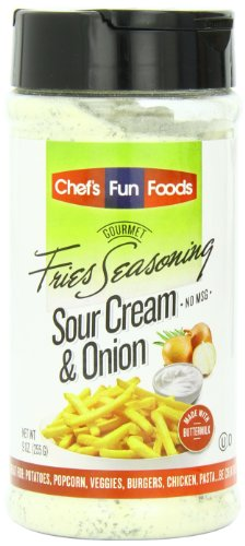 (Gourmet Fries Seasonings Bottle, Sour Cream and Onion, 9 Ounce)