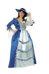 Cesar - Disfraz de mujer barroca para mujer (adulto), talla única