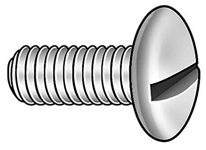 100 pk #10-32 x 1//2 Round Head Combination Slotted//Phillips Machine Screw GRAINGER APPROVED