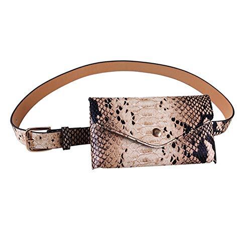 Fanny Viaggio In Cintura Pack Impermeabile Con Coccodrillo Personalizzata A Rimovibile Tasca Mini Marsupio Tracolla Donna Vita Borsa Camel Da Pu All'aperto qwSIPf4T